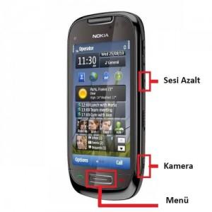 Nokia C7-00 Format Atma