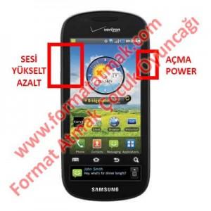 Samsung Galaxy S Continuum Format Atma