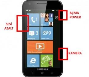 Samsung Focus SGH-i917 Format Atma