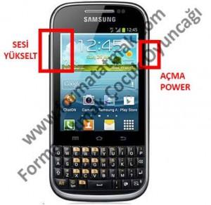 Samsung Galaxy Chat B5330 Format Atma