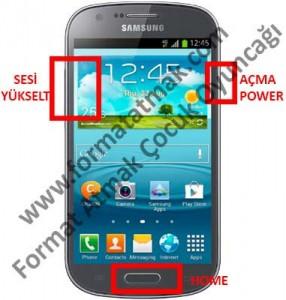 Samsung Galaxy Express 2 Format Atma