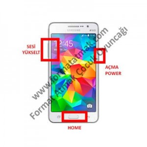 Samsung Galaxy Core Prime Value Edition Format Atma