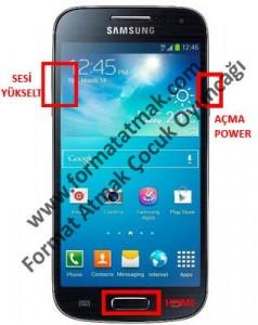 Samsung Galaxy S4 Mini Plus Format Atma