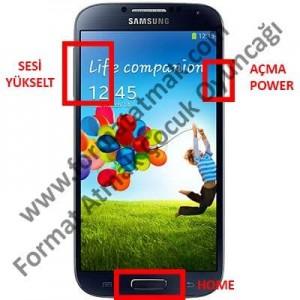 Samsung Galaxy S4 Format Atma