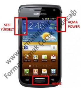 Samsung Galaxy Wonder i8150 Format Atma