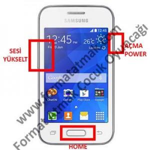 Samsung Galaxy Young 2 G130HN Format Atma