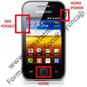 Samsung Galaxy Young s5360 Format Atma
