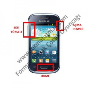 Samsung Galaxy Young s6310 Format Atma