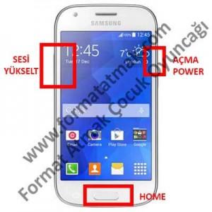 Samsung Galaxy Ace 4 Format Atma