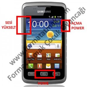 Samsung Galaxy Xcover Format Atma