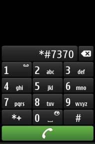 Nokia E50 Format Atma