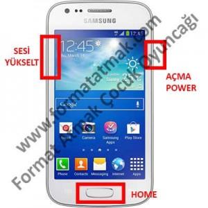 Samsung Galaxy Ace 3 Format Atma