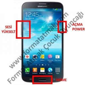 Samsung Galaxy Mega 6.3 Format Atma