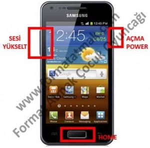 Samsung Galaxy S i9000 Format Atma