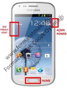 Samsung Galaxy Trend Format Atma