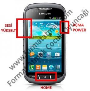 Samsung Galaxy Xcover 2 Format Atma