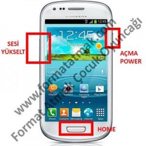 Samsung Galaxy S3 Mini Format Atma