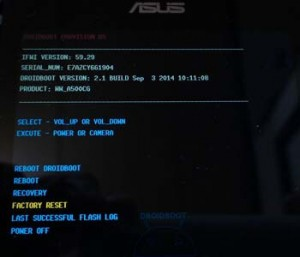 Asus Live Format Atma