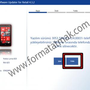 Nokia Lumia Yazılım Kurtarma