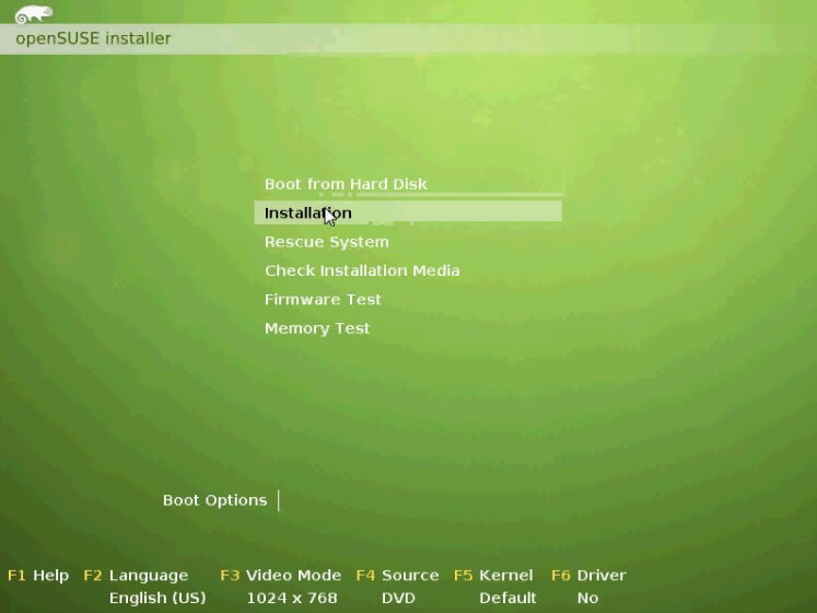 OpenSuse Format Atma