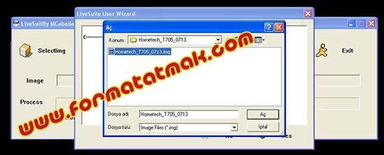 Hometech T705 Format Atma
