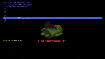 Hometech Ultra Tab8 Plus Format Atma