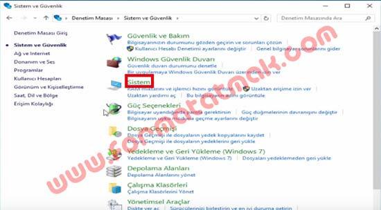 Windows 10 Geri Yükleme