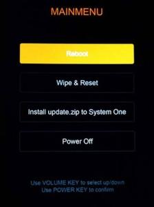 Xiaomi Mi 5S Pro Format Atma