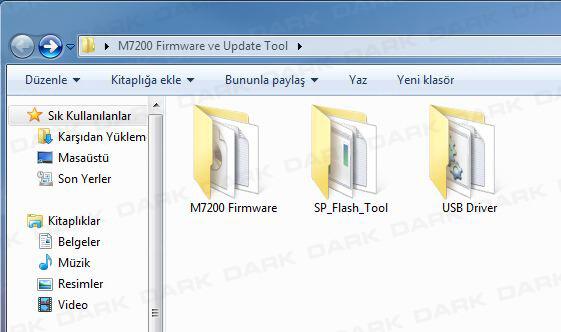 Dark Evopad M Serisi Format Atma