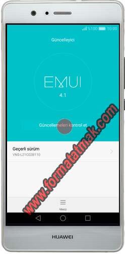 Huawei Telefonlarda Güncelleme
