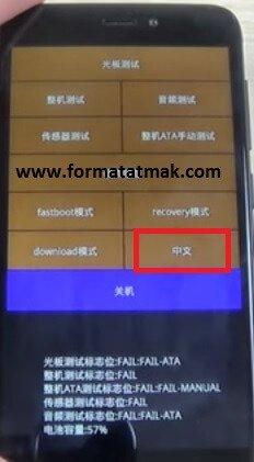Xiaomi Redmi 4X Format Atma