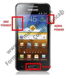Samsung Galaxy Beam Format Atma