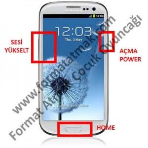 Samsung Galaxy S3 Format Atma