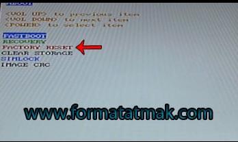 HTC Desire 828 Format Atma