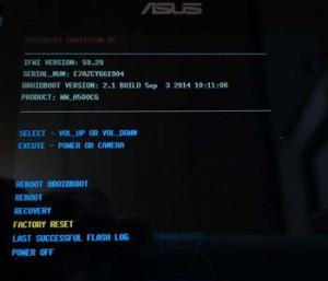 Asus Zenfone Zoom S Format Atma