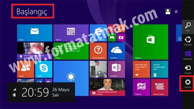 Windows 8.1 Recovery Format Atma Sıfırlama
