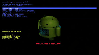 Hometech Ideal Tab7 Format Atma