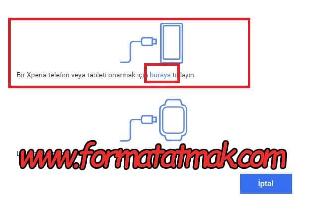 Sony Xperia 1 ll Format Atma