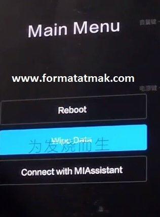 Xiaomi Redmi 9 Format Atma